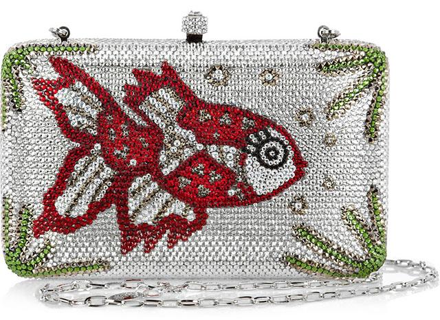 Sylvia Toledano Miss Fish Swarovski Clutch