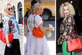 The Many Bags of Rita Ora