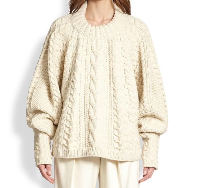 The Row Fisherman Sweater