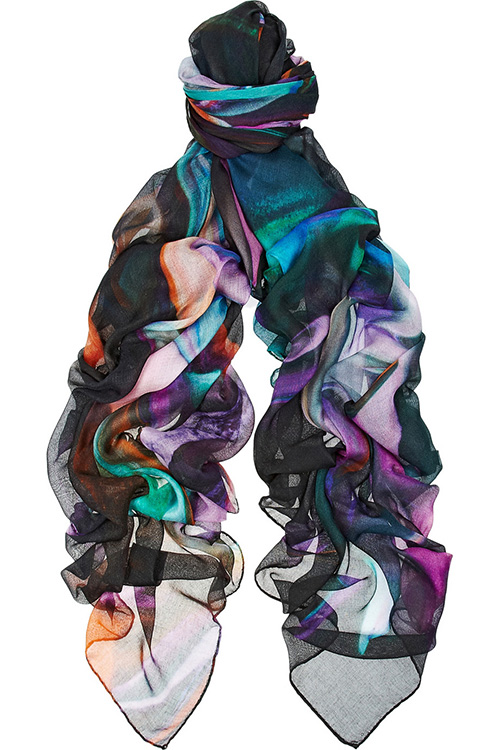 Weston Strizzatte Sasette Silk Blend Scarf