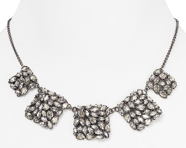 Alexis Bittar Small Linked Bib Necklace