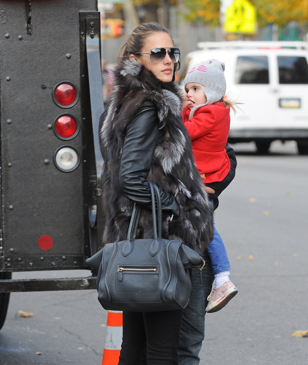 Celebs and Celine Luggage Totes 1