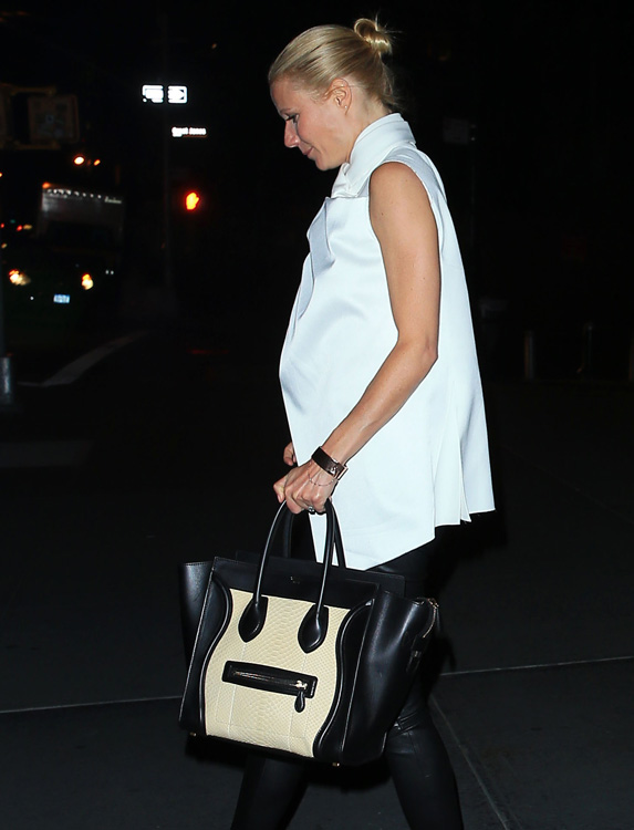 Celebs and Celine Luggage Totes 10