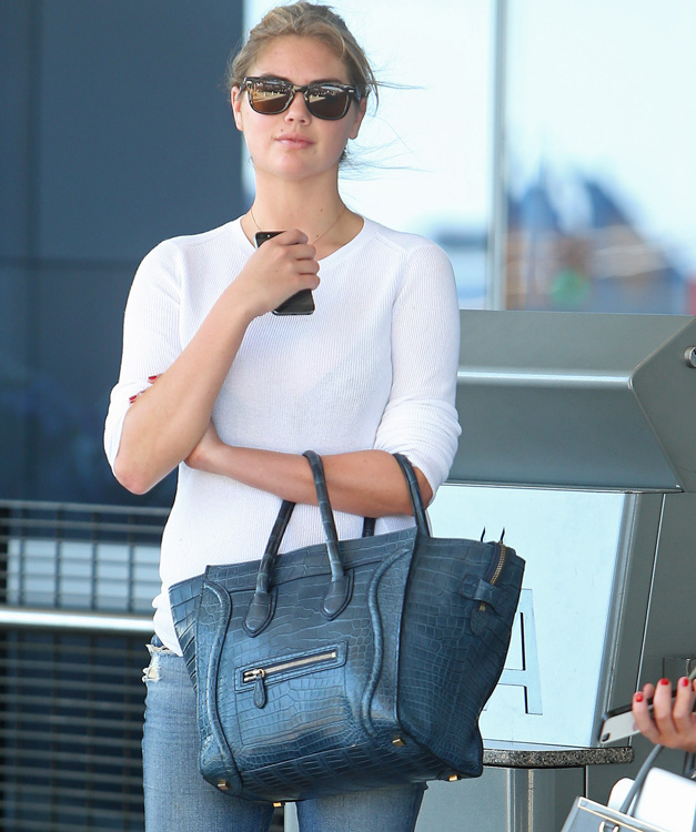 Celebs and Celine Luggage Totes 23
