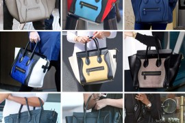 Celebs and Celine Luggage Totes