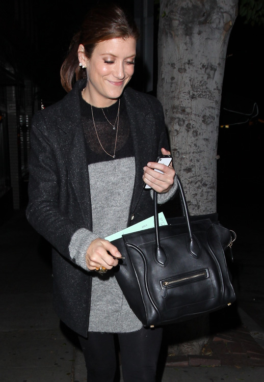 Celebs and Celine Luggage Totes 3