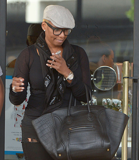 Celebs and Celine Luggage Totes 35