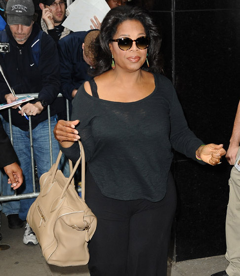 Celebs and Celine Luggage Totes 36