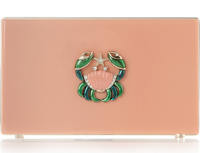 Charlotte Olympia Cancer Perspex Pandora Clutch