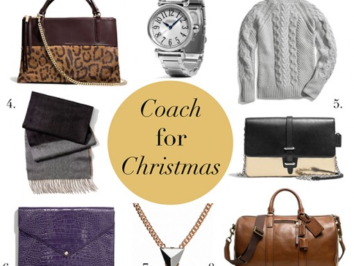 Coach Gift Guide