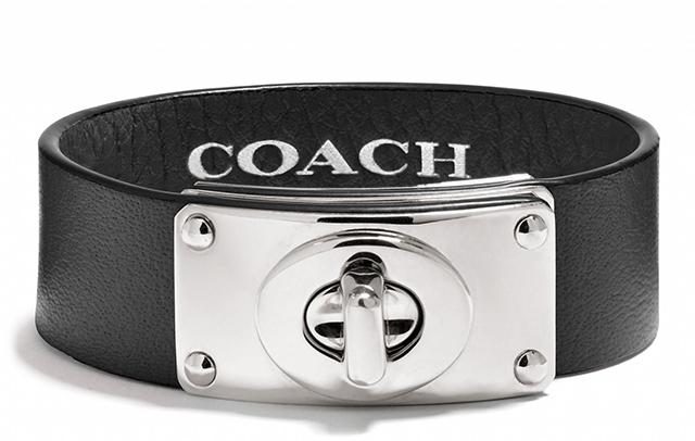 Coach Small Turnlock Plaque Bracelet
