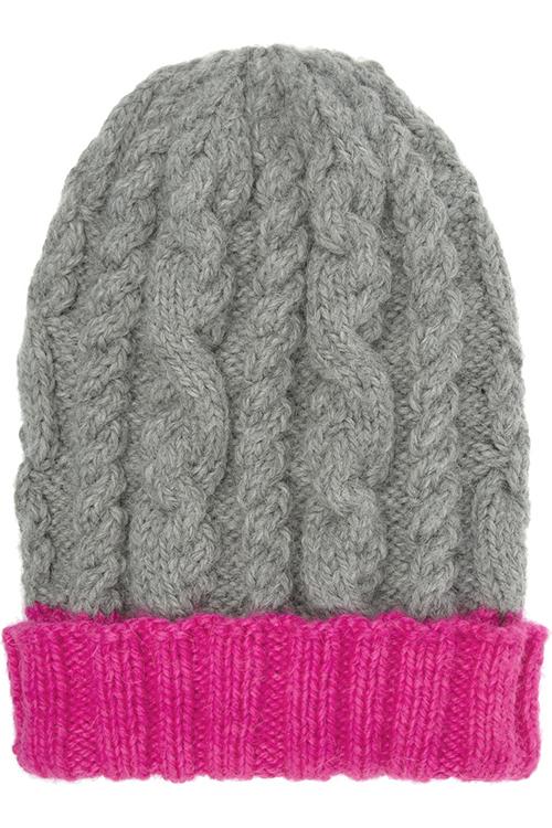 Eugenia Kim Jill Cable Knit Alpaca Hat