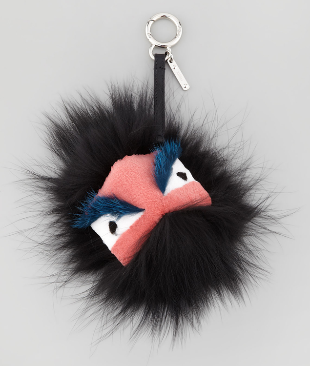 Fendi Fur Bag Bug Charm