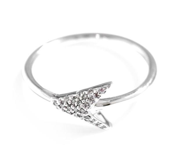 Jade Jagger Diamond Arrow Head Ring