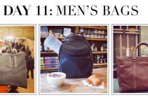 #12DaysofHandbags Day 11: Men's Bags