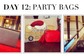 #12DaysofHandbags Day 12: Party Bags