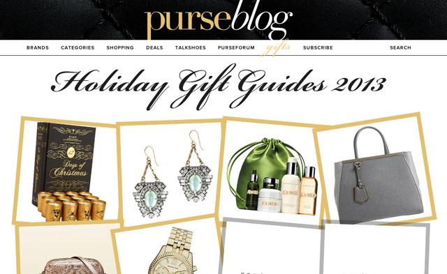 PurseBlog Holiday 2013 Gift Guides