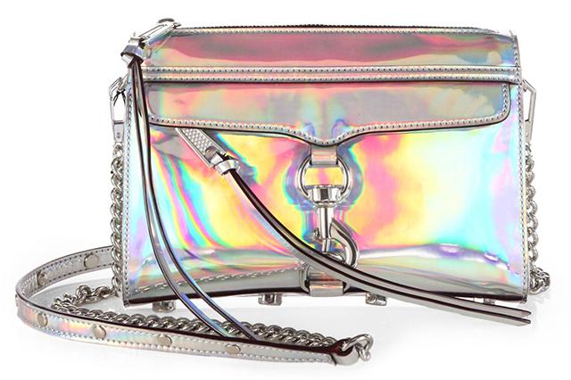 Rebecca Minkoff Mini MAC Holographic Crossbody Bag