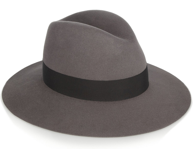 Saint Laurent Rabbit Felt Fedora