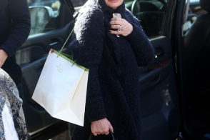 Sharon Osbourne Braves the Cold with Exotic Chanel