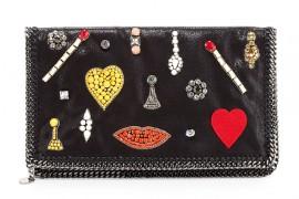 Stella McCartney Falabella Embellished Clutch