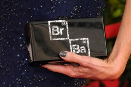 Anna Gunn's Edie Parker Clutch Wins the Awards Season Handbag Competition