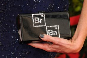 Anna Gunn's Edie Parker Clutch Wins the Awards Season Handbag Competition