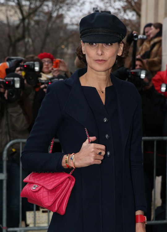 Celebrity Handbags at Paris Couture Week-6