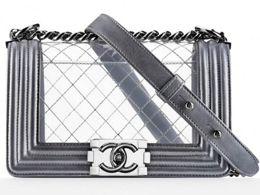 Chanel Clear Boy Bag