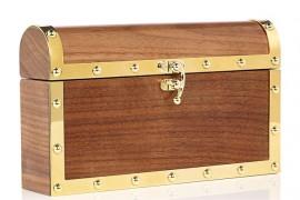 Charlotte Olympia Treasure Chest Clutch