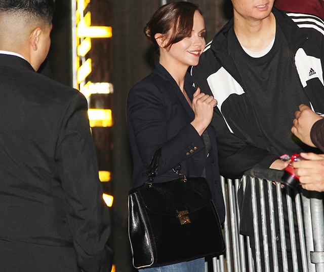 Christina Ricci Marc Jacobs The 1984 Satchel