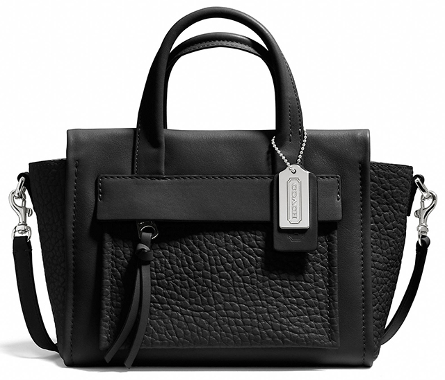 Coach Bleecker Mini Pocket Carryall Black