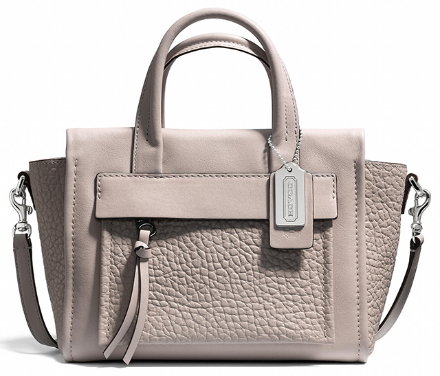 Coach Bleecker Mini Pocket Carryall Grey Birch