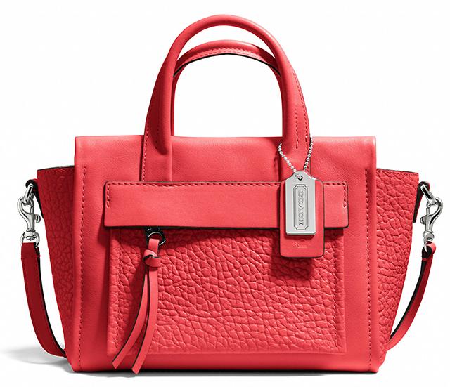 Coach Bleecker Mini Pocket Carryall Love Red