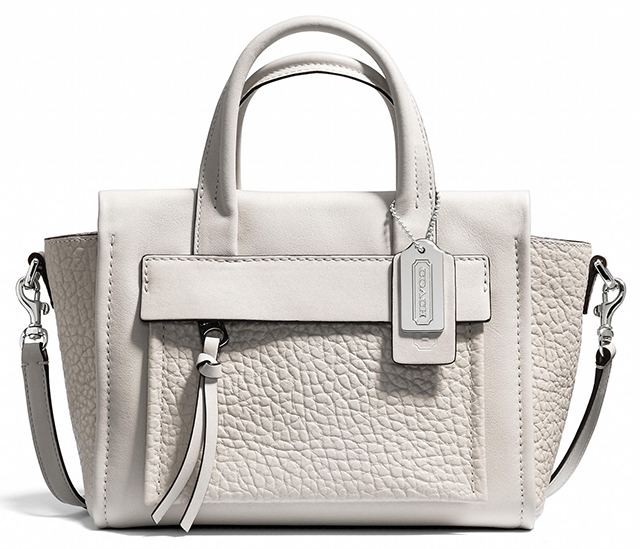 Coach Bleecker Mini Pocket Carryall Parchment