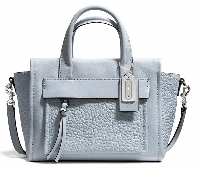 Coach Bleecker Mini Pocket Carryall Powder Blue