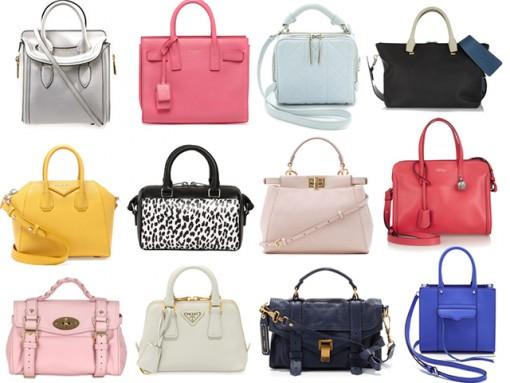 Designer Mini Bags Spring 2014
