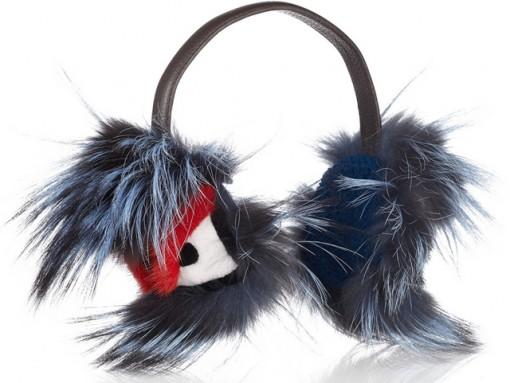 Fendi Buggie Fur Earmuffs