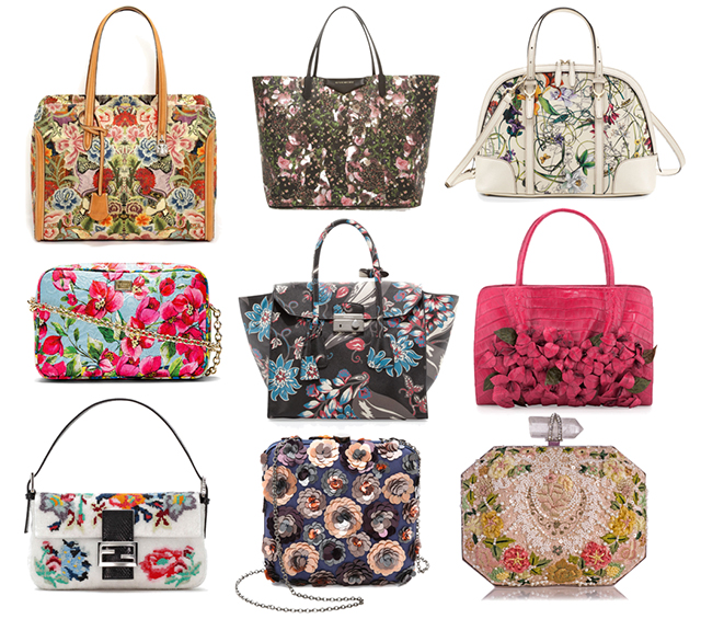 Floral Bags Spring 2014