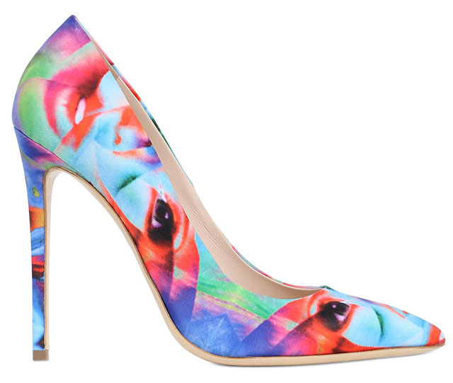 Gianmarco Lorenzi Surrealism Silk Pumps