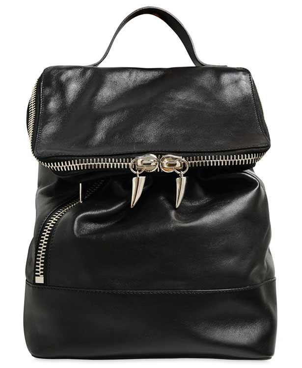 Giuseppe Zanotti Nappa Leather Backpack