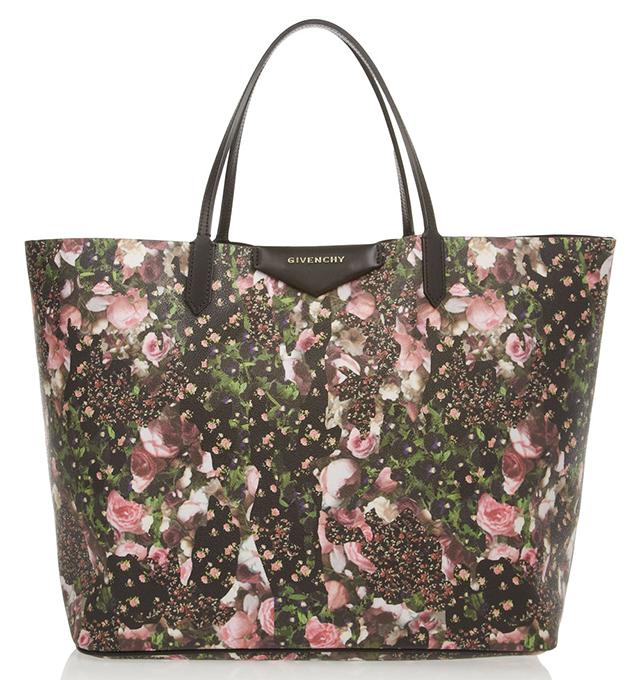 Givenchy Antigona Floral Shopping Tote