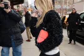 Kate Hudson Goes Modern with an M2Malletier Clutch