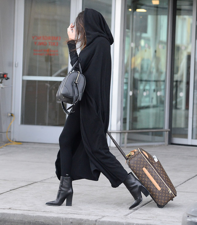 Kendall and Kylie Jenner Givenchy Lucrezia Louis Vuitton Pegase Suitcases-4