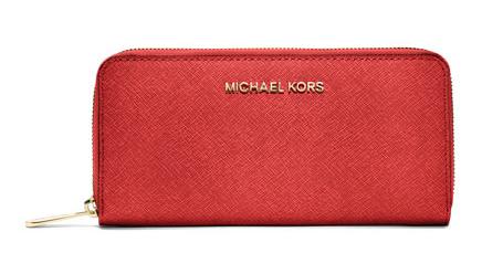 MICHAEL Michael Kors Jet Set Saffiano Continential Wallet