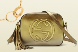 Perfect Pairs Gucci Bag and Cartier Necklace