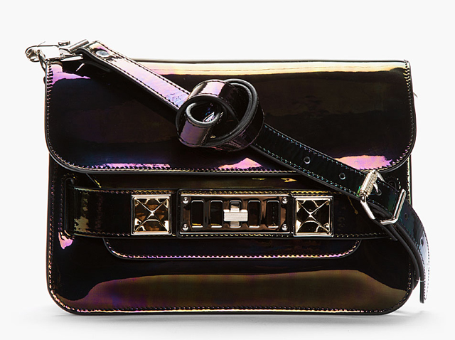 Proenza Schouler Oilslick Mini PS11 Bag