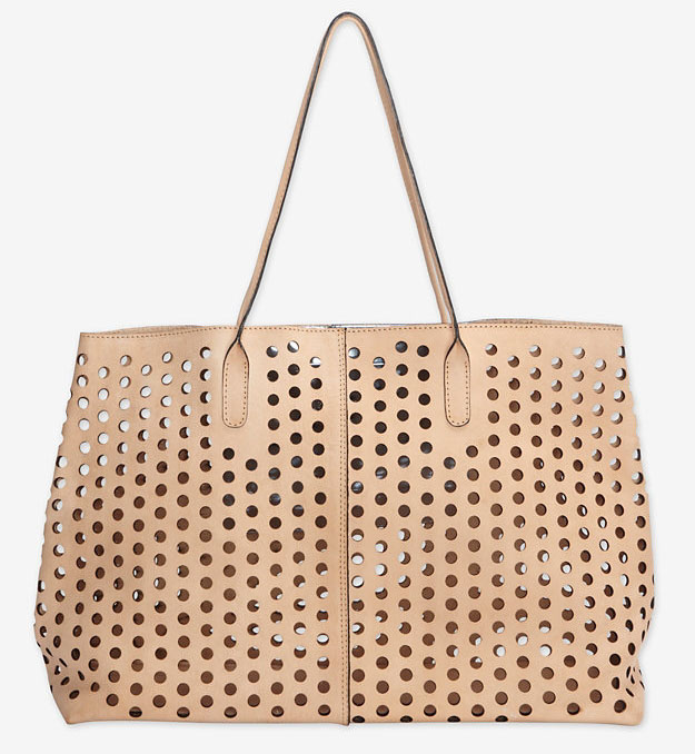 Rachel Comey Perforated Leather Market Tote