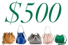 5 Under 500 Bucket Bags