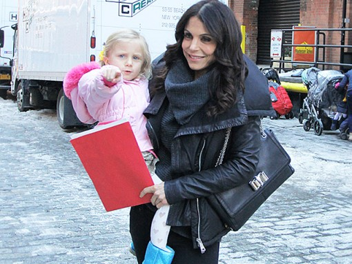Bethenny Frankel Christian Louboutin Sweet Charity Shoulder Bag